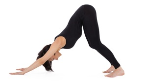 Downward-Facing-Dog-Knees-Bent